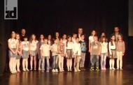 Osnovci iz Muzičke škole svirali svom gradu