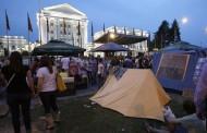 Makedonija: Šatori ispred Vlade i Sobranja