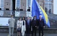 Podignuta zastava BiH u Strazburu