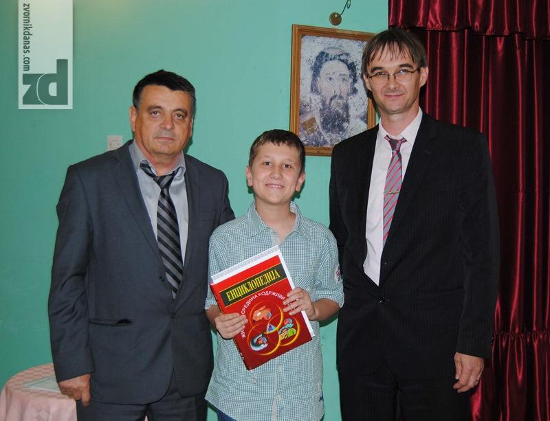 Photo of Prvo mjesto iz poznavanja biologije osvojio Veljko Sandić