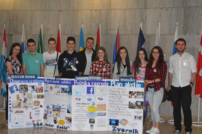 Photo of Učenici ekonomske škole predstavljali regiju na republičkoj smotri projekta