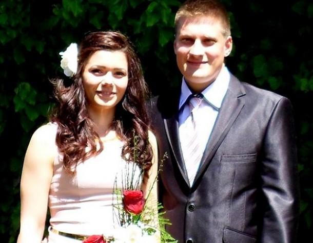 Natalija i Vlastimir na dan vjenčanja 10. maja