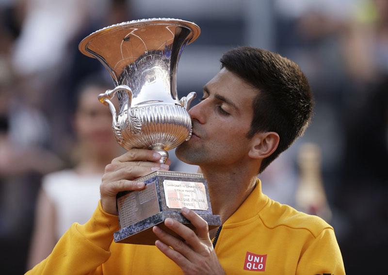 Đoković pobjedio Federera i odbranio titulu u Rimu