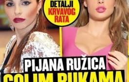 GOLMAN DRINE U ŽIŽI JAVNOSTI: Pijana Ružica davila Šaviju zbog Čokorila