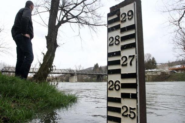 Ispod kota redovne odbrane od poplava