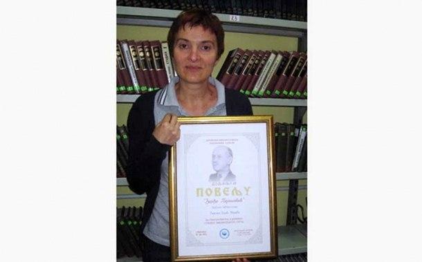 Photo of Biljana Pajić iz Milića, dobitnik nagrade za najboljeg bibliotekara
