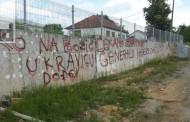 U Capardama grafiti podrške Naseru Oriću: Čekamo zapovjed generalu...