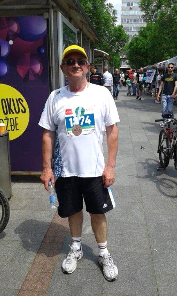 Photo of U 59. godini istrčao dva polumaratona