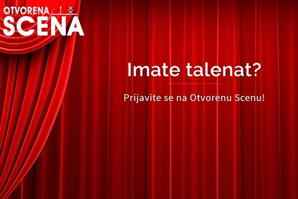 Budi zvijezda otvorene scene! Prijave za takmičenje talenata