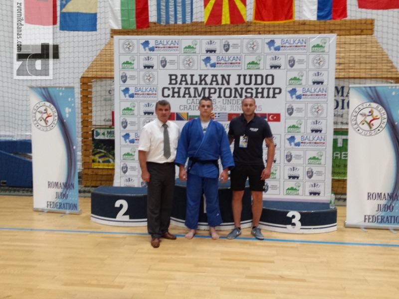 Photo of Vasilije Vujičić vicešampion Balkana za kadete