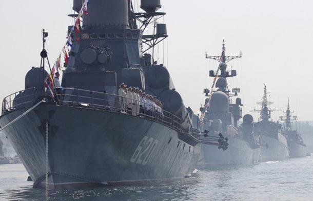 Brodovi ruske Crnomorske flote u Atlantiku