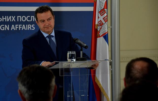 Dačić: Srbija će nastaviti konstruktivno da pristupa dijalogu