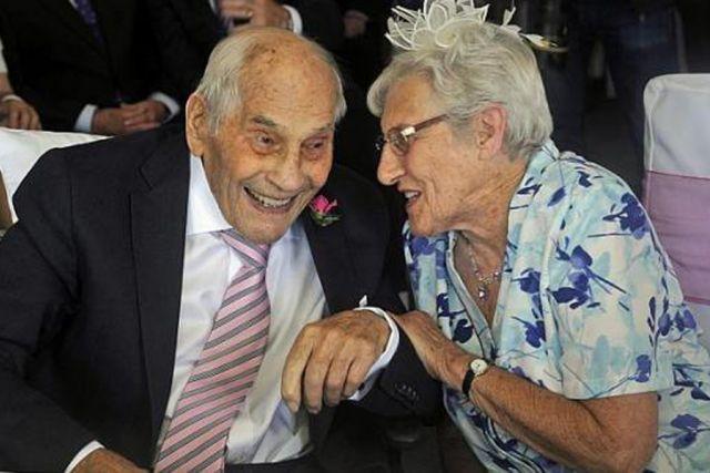 Photo of Najstariji mladenci, zajedno imaju 194 godine