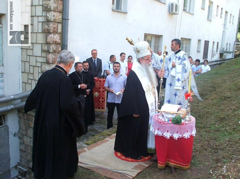 Vladika Hrizostom osveštao zemljište za Bolničku kapelu u Zvorniku