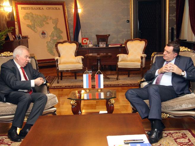 Dodik-Ivancov: Referendum zasnovan na principima Dejtona