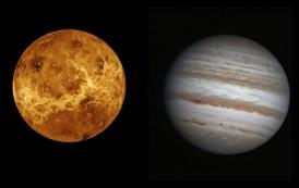 Večeras bliski susret Venere i Јupitera
