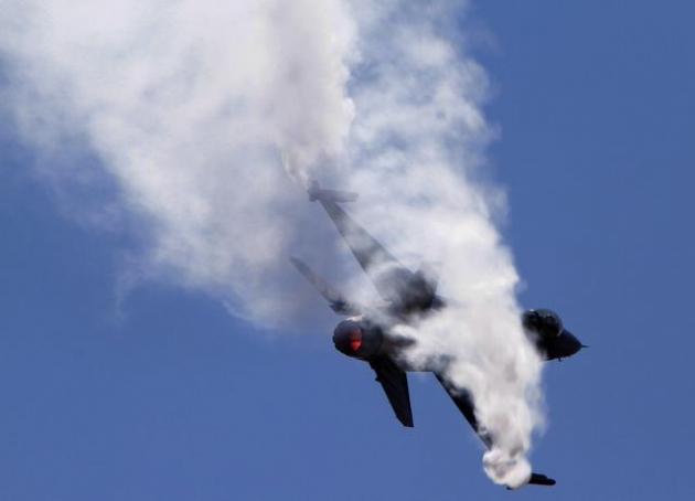 Pilot borbenog aviona povrijeđen pri prinudnom slijetanju