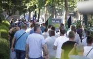 Počeo protest Sindikata u Sarajevu