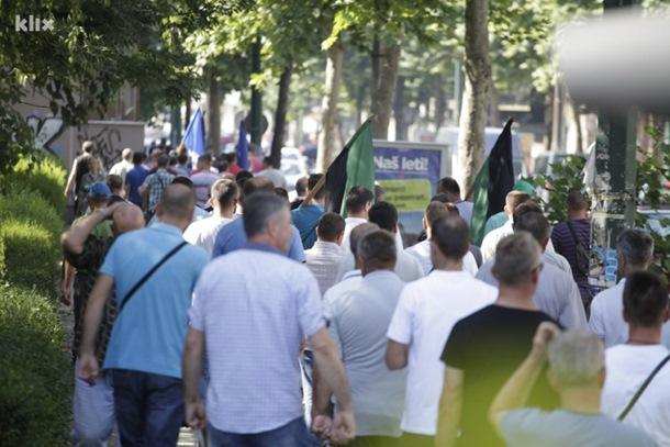 Photo of Počeo protest Sindikata u Sarajevu