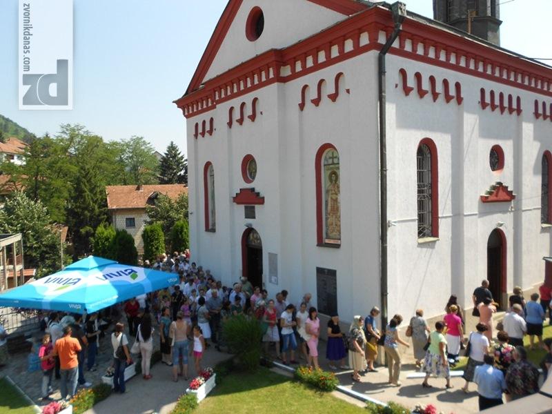 Photo of Zvornički hram obilježio krsnu slavu