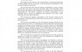 Evo šta piše u britanskoj rezoluciji o Srebrenici