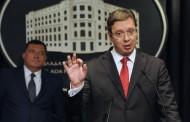 Vučić pričao sa Dodikom nakon večere sa članovima Predsjedništva BiH
