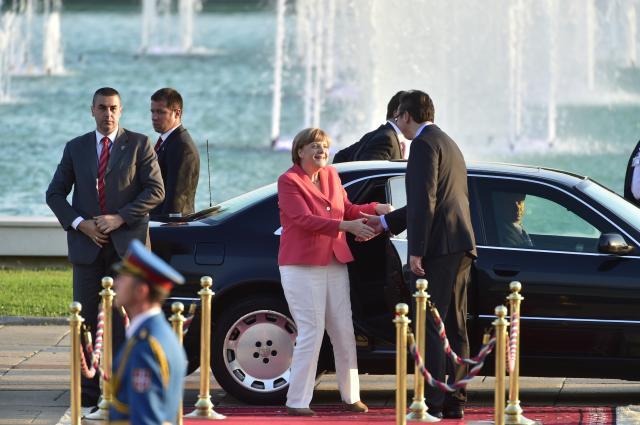 Photo of Merkelova stigla u Beograd – u toku razgovor sa Vučićem