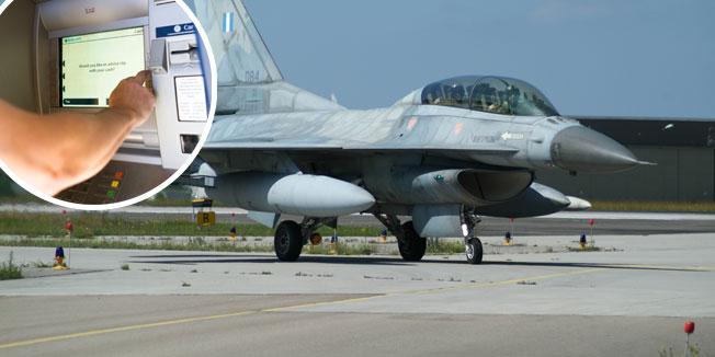 Photo of VJEROVALI ILI NE: Grčki pilot sa F-16 odletio u Tursku, na bankomatu digao 2.000 evra i vratio se kući