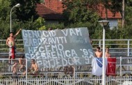 Zbog isticanja transparenata navijači iz Bihaća počinili prekršaj