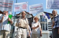 Protest štediša Ljubljanske banke zbog slovenačkog zakona