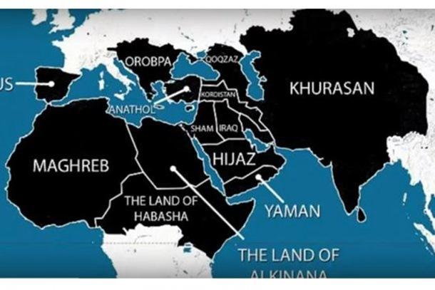 Mapa osvajanja ISIL-a do 2020: Od Španije do Kine