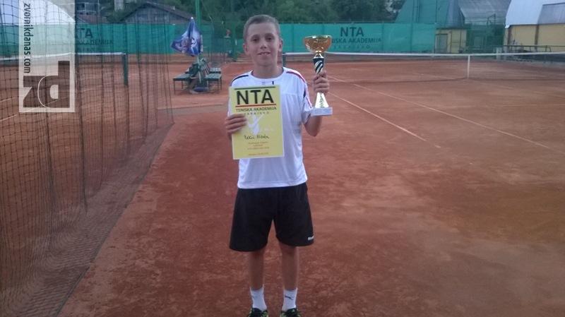 """Photo of Još jedan trijumf Zekića na terenima """"Nacionalne teniske akademije BiH"""""""