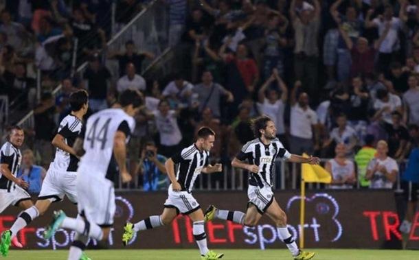 Partizan na BATE za Ligu šampiona!