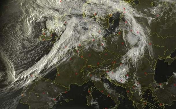 Satelitski snimci upozoravaju: Idućih 10 dana neočekivano vrijeme nad Balkanom?