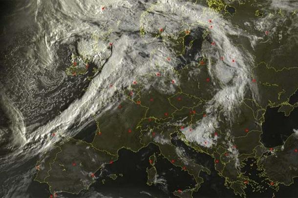 Photo of Satelitski snimci upozoravaju: Idućih 10 dana neočekivano vrijeme nad Balkanom?