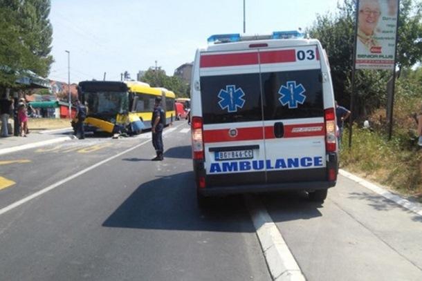 Sudar autobusa u Beogradu, više od 20 povrijeđenih