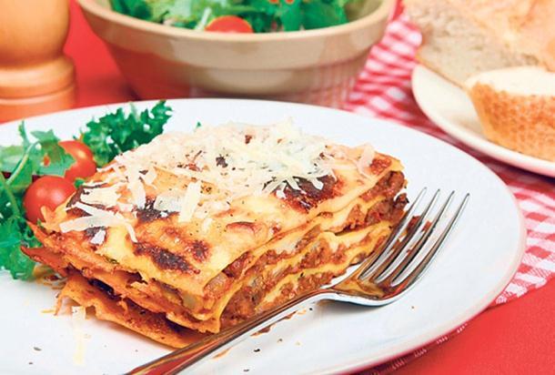 Recept dana- Sočne lazanje od palačinki