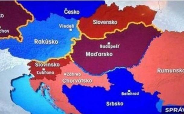 Photo of Slovačka televizija: Bosna i Hercegovina je teritorija Srbije