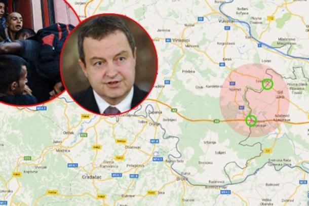 Dačić: Srbija nikada neće biti logor, kontramjere ako EU ne riješi izbjegličku krizu