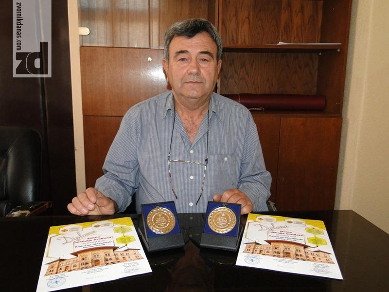 Photo of Dvije zlatne medalje za pčelara Radovana Stevanovića