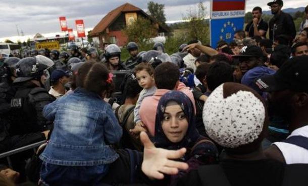 Slovenija pustila izbjeglice da uđu