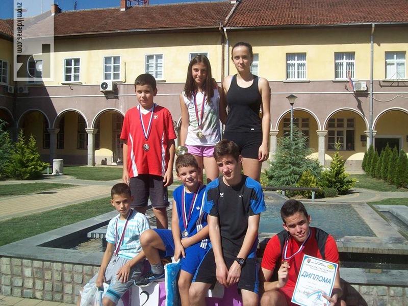 Photo of Nove medalje za mlade zvorničke atletičare