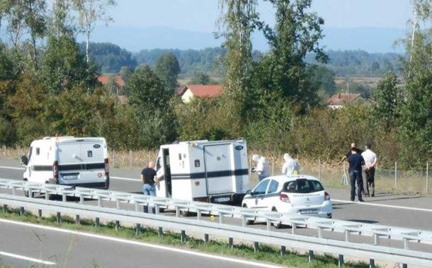 Filmska pljačka na autoputu Banjaluka - Gradiška