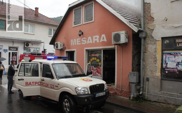 Požar u centru Zvornika brzo lokalizovan