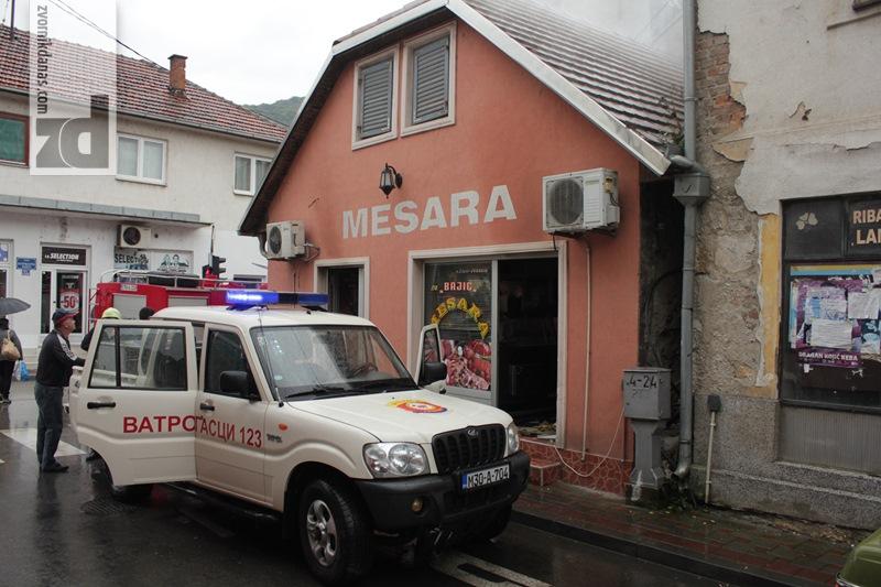 Photo of Požar u centru Zvornika brzo lokalizovan
