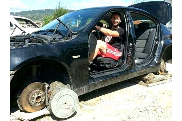 Ukrali mu BMW u Budimpešti, našao ga u dijelovima na Palama