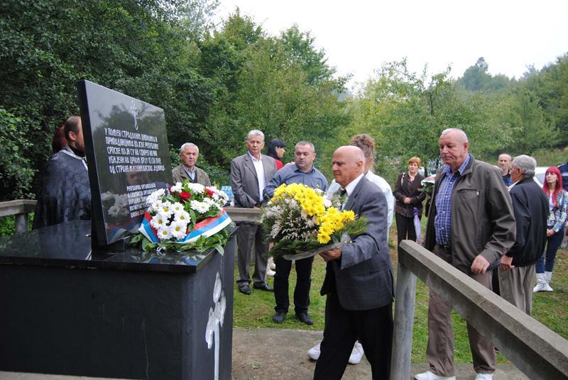 Photo of Obilježeno stradanje ubijenih Srba na Crnom vrhu