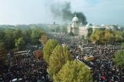Petnaest godina od petooktobarskih promena u Srbiji