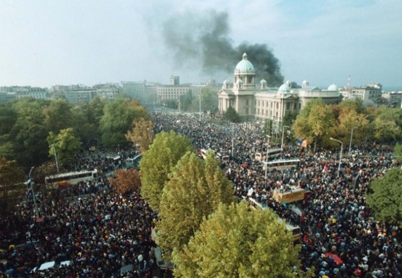 Photo of Danas 18 godina od petooktobarskih demonstracija