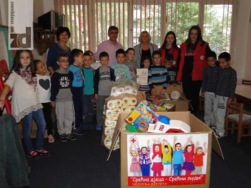 """Photo of Donacija zvorničkog Crvenog krsta """"Našoj radosti"""""""